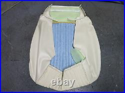 1969 Mustang Deluxe Interior Front Bucket Seat Upholstery Reproduction White