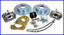 1979-93 Mustang drum to disc conversion with SN95 GT parts (4 Lug)