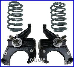 2.5/4 Drop Spindles & Coils Suspension Lower For 1971-72 Chevy C10 withDisc Brakes