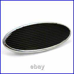 47-54 Chevy Truck Manual Brake Pedal kit Disc/DiscLg Oval Chr Pad parts