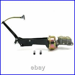 49-54 Chevy Car 7 Single Brake Pedal kit Disc/DiscSm Oval Chr Pad front parts
