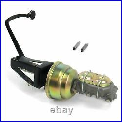 53-56 Ford Truck 7 Dual Brake Pedal kit Disc/Drum3in Chr Pad parts suspension