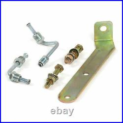 53-56 Ford Truck FW 7 Single Brake Pedal kit Adj Disc/Disc3in Rubber Pad parts