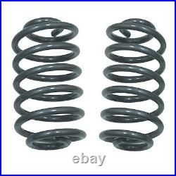 Drop Spindles & Coils 2.5/4 Suspension Lower Fits 63-70 Chevy C10 withDisc Brakes