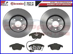 FOR AUDI A4 B8 A5 2008- FRONT GENUINE OEM BREMBO BRAKE DISCS AND PADS SET 320mm