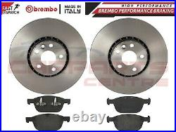 FOR VOLVO XC60 2.0 D3 D4 2010-2018 FRONT BREMBO BRAKE DISCS PADS PAD SET 328mm