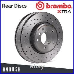 Fit Astra G H Combo Corsa C Zafira A B Brembo Xtra Drilled Brake Discs R 264mm