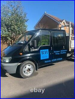 Ford transit 3 way tipper 2001. Loads of new parts. Not ur usual rust bucket