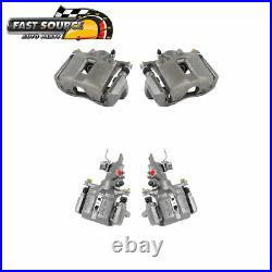 Front And Rear Brake Calipers For 2004 2005 2006 2007 2008 Acura TSX