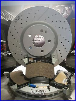 Front Brake Pads & Discs Mercedes A45 AMG, Genuine Parts, SAVE £135! , new