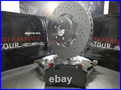 Mercedes CLS63 AMG Front Brake Pads & Discs, Genuine Parts, save £440! , new