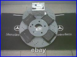 Mercedes Parts Brake Pad And Disc Set Front C-Class (203 Series) Sports NEW