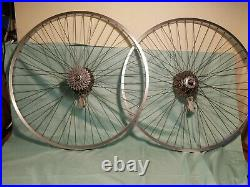 Phil Wood Wheel Set, Phil Wood Hubs and Disc Brakes. Weinmann Rims, For Parts