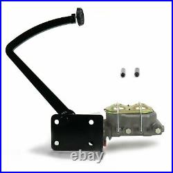 Universal Frame Mnt Manual Brake Pedal kit Disc/Disc3in Rubber Pad parts front