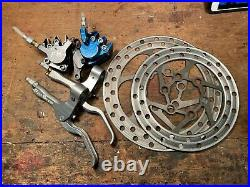 Vintage MTB Pro Stop Disc Brake Set for Parts for Answer Accutrax San Andreas